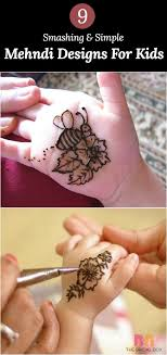 Small Picture Best 25 Mehndi designs for kids ideas on Pinterest Henna flower