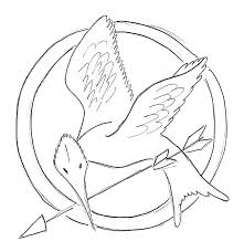 Small Picture Mockingjay Bird Pin Drawing Coloring Book 6241 plaaco