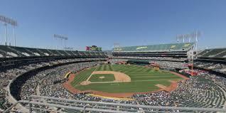 Ringcentral Coliseum Section 313 Oakland Athletics