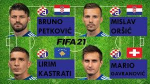 Bruno Petković vs Mislav Oršić vs Lirim Kastrati vs Mario Gavranović - FIFA  21 comparison - YouTube