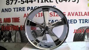 DUBSandTIRES.com 22 Inch American Racing Nova VN701 Chrome Wheels ...