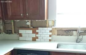 courageous butcher block countertop backsplash and tiling