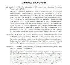 annotated essay example annotated bibliography in extended essay  annotated