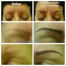 cosmetic permanent makeup for eyebrows