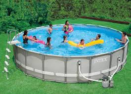 intex ultra frame above ground pools. Interesting Frame With Intex Ultra Frame Above Ground Pools T
