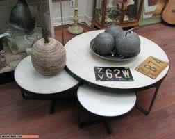round nesting coffee table design ideas glass