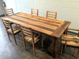 reclaimed wooden dining table reclaimed wood farmhouse extendable dining table smooth finish reclaimed wood dining table