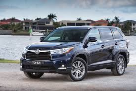 new car releases australia 2014Toyota Kluger 5dr wagon range  Driven Toyota launches thirdgen