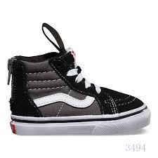 vans shoes high tops for boys. vans vs453234 toddlers sk8-hi zip 2 tone/black/charcoal - kids high top shoes tops for boys h