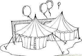 Small Picture Circus Tents Coloring Page Free Circus Animals Coloring Pages