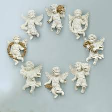 wall angel decor sculpture art wings home hanging