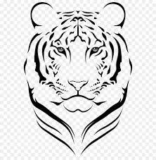 tiger black tiger royalty free art monochrome photography png