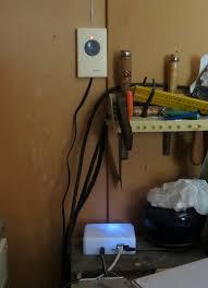 picture of arduino wifi garage door opener