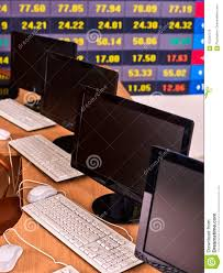 Chart Display Business Monitor Pc Office Stock Market Digital Graph Chart