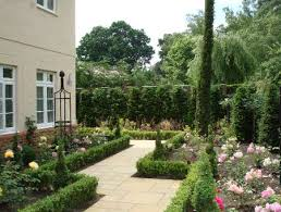 Small Picture italian cypress landscape ideas Formal front garden in Virginia