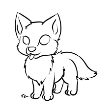 cute simple wolf drawing. Delighful Wolf 210 Best Images About Little Sketches On Pinterest Animal Drawings Art  Sketches To Cute Simple Wolf Drawing I