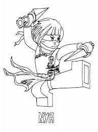 Small Picture Kids Page Lego Ninjago Coloring Pages