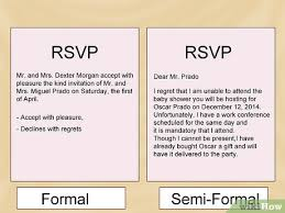 how to rsvp 8 steps with pictures