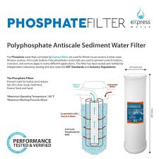 House Water Filter Whole House Water Filter Replacement Cartridge Phosphate Filter