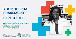 "NB Pharmacists Assn on Twitter: ""Meet Priscilla Gordon! She's a surgical  pharmacist who helps patients with post-operative pain control, diabetes  and hypertension management. Your hospital pharmacy team is here to help!  @CSHP_NB @"