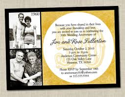 free printable anniversary party invitations