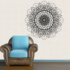 au mandala flower vinyl removable art wall sticker decal mural room