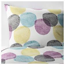 ikea malin rund full queen duvet cover 2 pillowcase 802 249 06 bedroom bed new