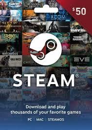 Gamesdeal.com is an online platform for digital products: 50 Steam Game Card Email Delivery Gkgameskeys