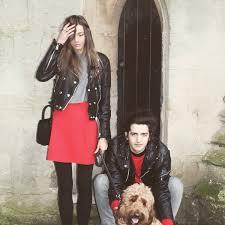 jacket black leather leather jacket eleanor calder skirt