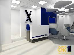 office reception designs. Reception With Counter And Business Signage/branding Office Designs
