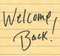 Image result for welcome back bible