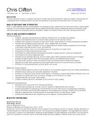 Ministry Resume Template