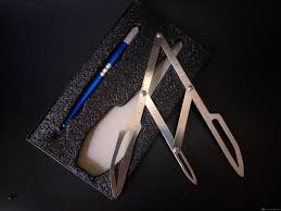 Microblading инструменты татуировки ручка комплект золотое сечение делитель