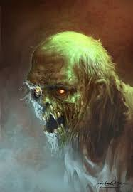 This creature is very ominous and creepy. They Come At Night By Mitchgrave X More Zombie Face Zombie Zombie Art