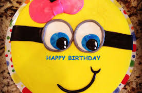 Minions Birthday Cake Image With Name Edit 2happybirthday