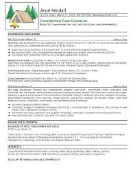 Camp Counselor Resume Sample Best of Residential Counselor Resume Resume Camp Counselor Residential