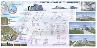 Удалённая работа Работа фрилансера Смирнова Мария mari smirnova  Дипломный проект на тему Аэроклуб в г Одесса