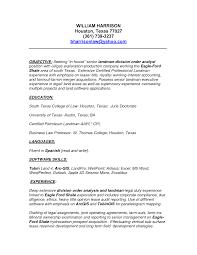landman resume