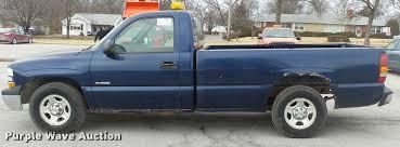 2002 Chevrolet Silverado 1500 pickup truck | Item DB0708 | S...