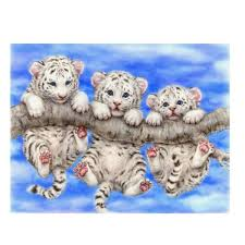 <b>Three</b> Tigers Baby 5D <b>Diamond DIY Painting</b> Crafts | Products ...