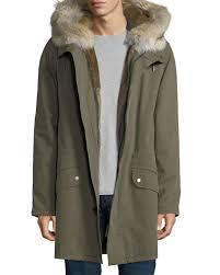 Neiman Marcus Classic Size Chart Long Classic Parka W Fur Lining