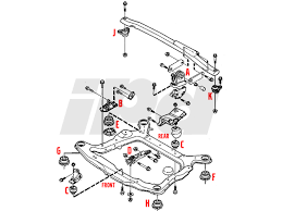 volvo upper engine stabilizer mount p s v xc s xc 113178 upper engine stabilizer mount position a in diagram