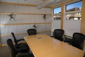 metal interior walls corrugated