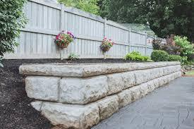 sus garden retaining wall brown s