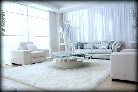 black faux fur sheepskin rug popular of white area with large home