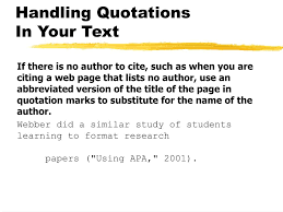 Ppt Checking The Format Of The Text Citations Notes And