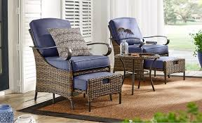Patio furniture for small spaces Affordable Small Space Sets Home Depot Patio Furniture The Home Depot