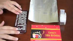personalized chocolate bar wrappers custom candy bar wrapper instructions