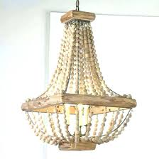 chandeliers wooden bead chandelier wood light lovely studio gorgeous beaded shades ceiling lighting