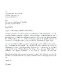 Employee Written Warning Notice Rafaelfran Co